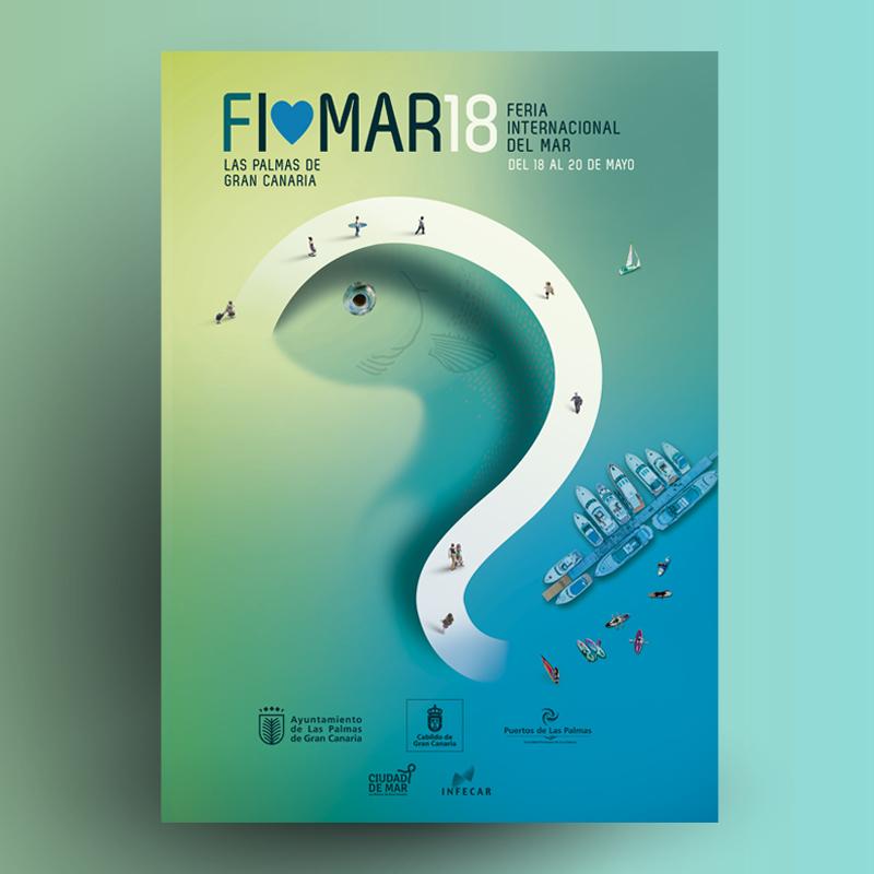Diseñamos el cartel para FIMAR 2018